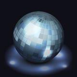 Palla della discoteca dello specchio Fotografie Stock Libere da Diritti