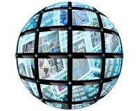 Palla della sfera Fotografie Stock Libere da Diritti