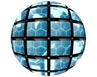 Palla della sfera Fotografia Stock