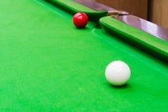 Palla dello snooker Fotografie Stock Libere da Diritti