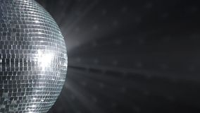 Palla dello specchio della discoteca. archivi video