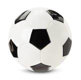Palla di calcio isolata sui precedenti bianchi fotografie stock libere da diritti