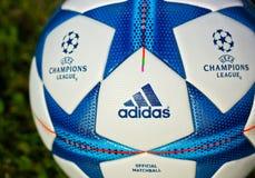 Palla di Champions League Fotografie Stock Libere da Diritti
