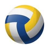 Palla di cuoio di pallavolo Fotografia Stock