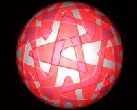 Palla di gomma Fotografie Stock Libere da Diritti
