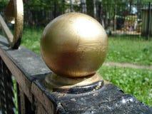Palla di metallo Fotografie Stock