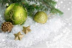 Palla di Natale Fotografia Stock Libera da Diritti