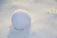 Palla di neve Immagine Stock Libera da Diritti