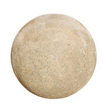 Palla di pietra del granito Immagini Stock