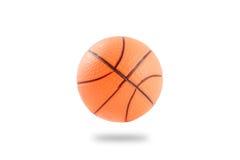 Palla di plastica di pallacanestro Fotografia Stock