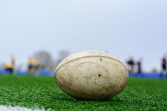 Palla di rugby Fotografie Stock Libere da Diritti