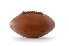 Palla di rugby del cuoio di Brown Immagini Stock Libere da Diritti