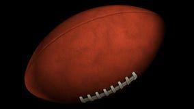 Palla di rugby di filatura royalty illustrazione gratis