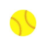 Palla di softball Immagine Stock Libera da Diritti