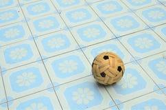 Palla di Takraw Fotografia Stock