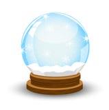 Palla festiva di vetro Fotografie Stock