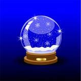 Palla festiva di vetro Immagini Stock Libere da Diritti
