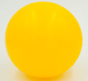 Palla gialla Immagine Stock Libera da Diritti
