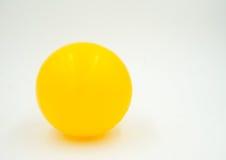 Palla gialla Fotografia Stock