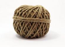 Palla isolata di corda Immagine Stock Libera da Diritti