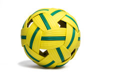 Palla per il gioco della palla del sepak Immagini Stock