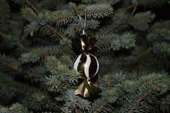 Palla per il Natale ed il nuovo anno di decorazione, alberi di s Immagini Stock Libere da Diritti