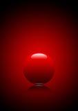 Palla rossa Fotografia Stock Libera da Diritti