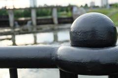 Palla sul ponte Fotografia Stock