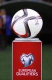 Palla ufficiale 2016 dell'EURO dell'UEFA Immagini Stock