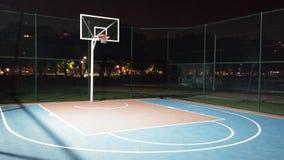 Pallacanestro court Fotografia Stock