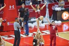 2014 pallacanestro del NCAA - acclamazione/ballo Fotografia Stock Libera da Diritti