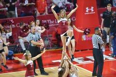 2014 pallacanestro del NCAA - acclamazione/ballo Immagine Stock