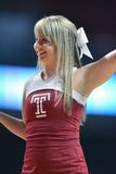 2014 pallacanestro del NCAA - azione del gioco del tempio di Towson @ Immagini Stock