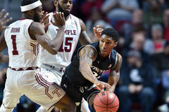 2016 pallacanestro del NCAA - Cincinnati al tempio Fotografie Stock