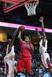 2014 pallacanestro del NCAA - grandi 5 Immagine Stock Libera da Diritti