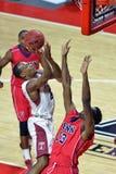 2014 pallacanestro del NCAA - grandi 5 Immagine Stock