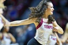 2016 pallacanestro del NCAA - Houston al tempio Fotografia Stock Libera da Diritti