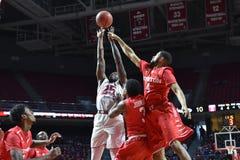 2016 pallacanestro del NCAA - Houston al tempio Fotografia Stock