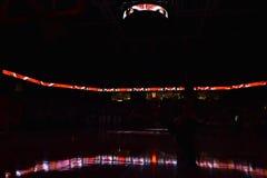 2016 pallacanestro del NCAA - Houston al tempio Fotografie Stock Libere da Diritti