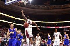 2014 pallacanestro del NCAA - Kansas al tempio Immagini Stock