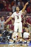 2014 pallacanestro del NCAA - Kansas al tempio Fotografie Stock