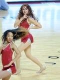 2014 pallacanestro del NCAA - squadra di spirito Immagine Stock Libera da Diritti