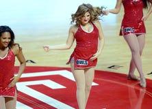 2014 pallacanestro del NCAA - squadra di spirito Fotografia Stock Libera da Diritti