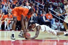 2015 pallacanestro del NCAA - tempio-Bucknell di NIT primo Rd Fotografie Stock