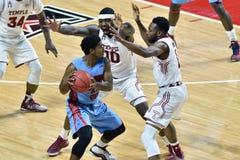 2015 pallacanestro del NCAA - tempio contro lo stato del Delaware Fotografia Stock