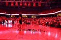 2015 pallacanestro del NCAA - Tempio-ECU Immagine Stock Libera da Diritti