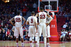 2015 pallacanestro del NCAA - tempio-Tulane Fotografia Stock Libera da Diritti