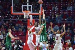 2015 pallacanestro del NCAA - tempio-Tulane Fotografie Stock Libere da Diritti