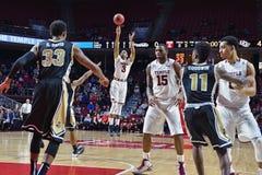 2015 pallacanestro del NCAA - tempio - UCF Immagine Stock Libera da Diritti