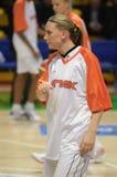Pallacanestro Euroleague delle donne Immagini Stock